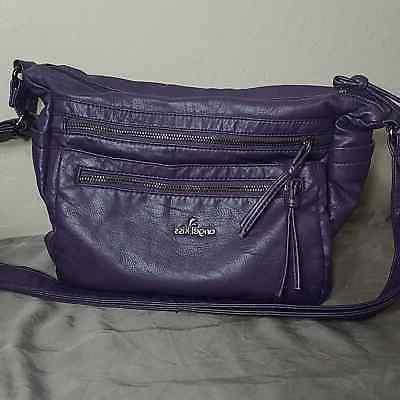 purple crossbody purse