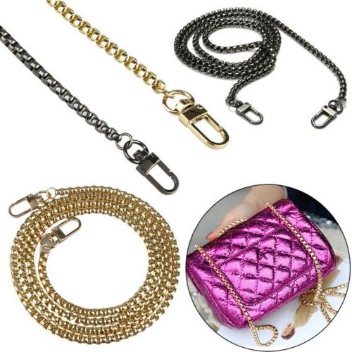 Replacement Purse Chain Strap Handle Shoulder For Crossbody
