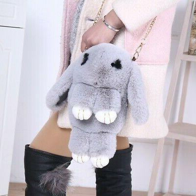 Rex Rabbit Purse Bunny Cute Travel Bags
