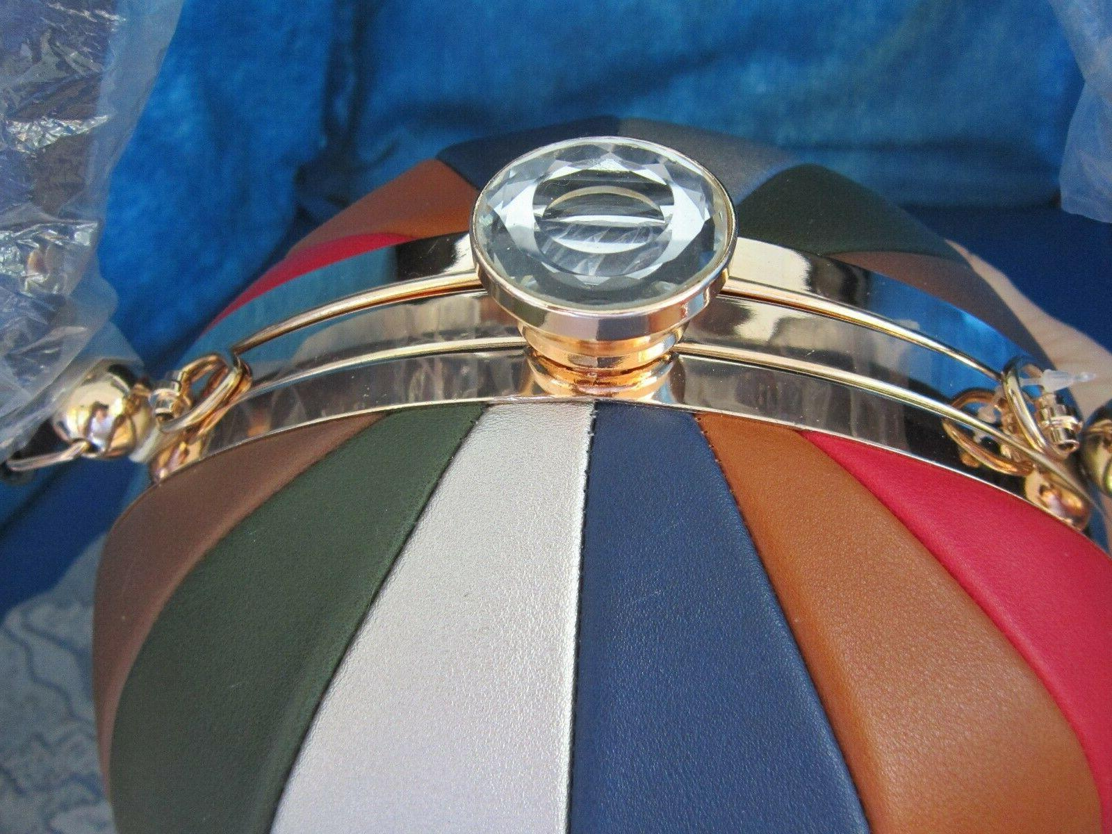 ALYSSA Beach Ball Shaped Shoulder Bag NWT NEW