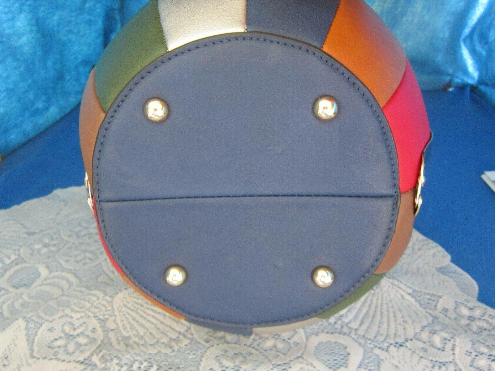 ALYSSA Round Purse Ball / Shoulder Bag NEW