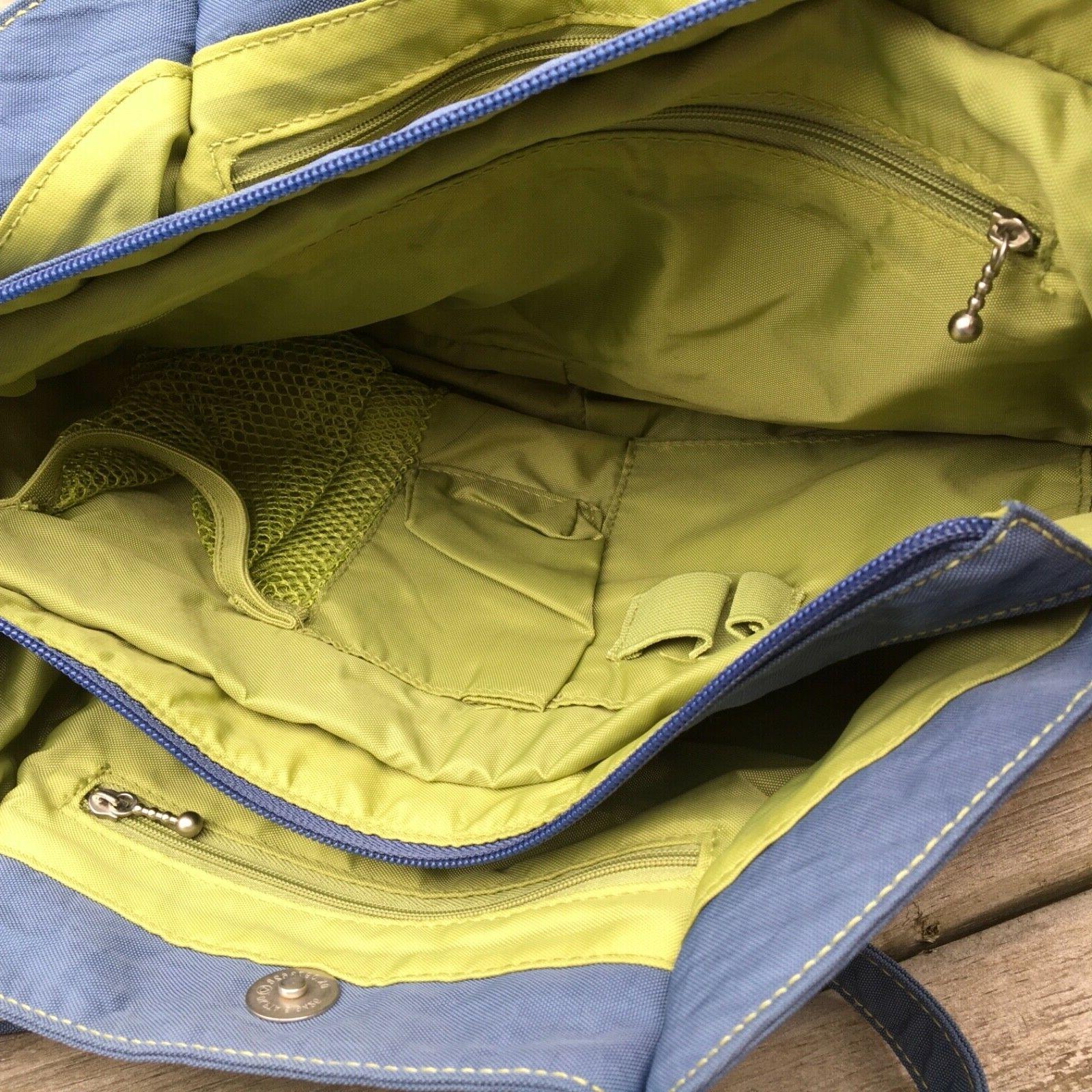 Baggallini Satchel Handbag Slate