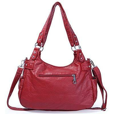 Shoulder Bags Separated Compartments Large Purses