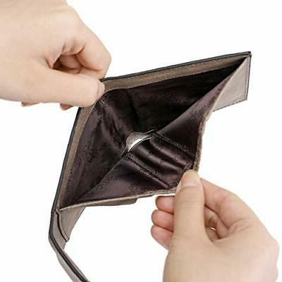 Small Wallet RFID Blocking Credit Card Holder Mini Purse