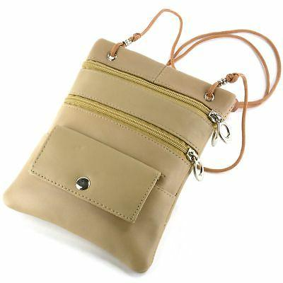 Soft Leather Purse Micro Wallet