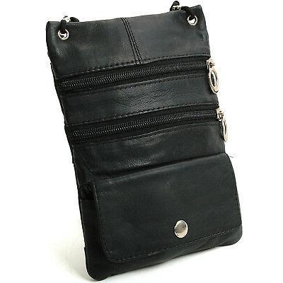 soft leather purse organizer shoulder bag 4