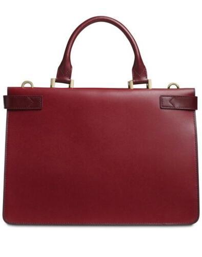 Michael Tatiana Maroon Burgundy Leather With Tags $348