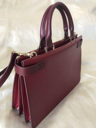 Michael Burgundy Leather With