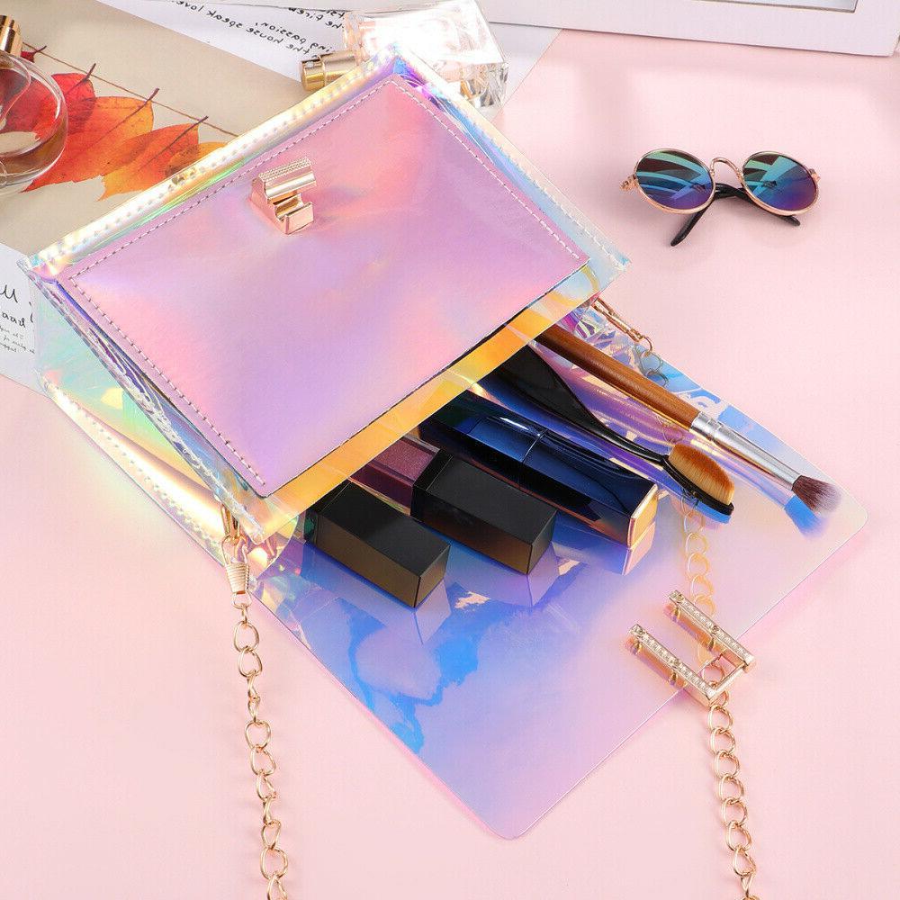Transparent Bag Rainbow Clear Jelly