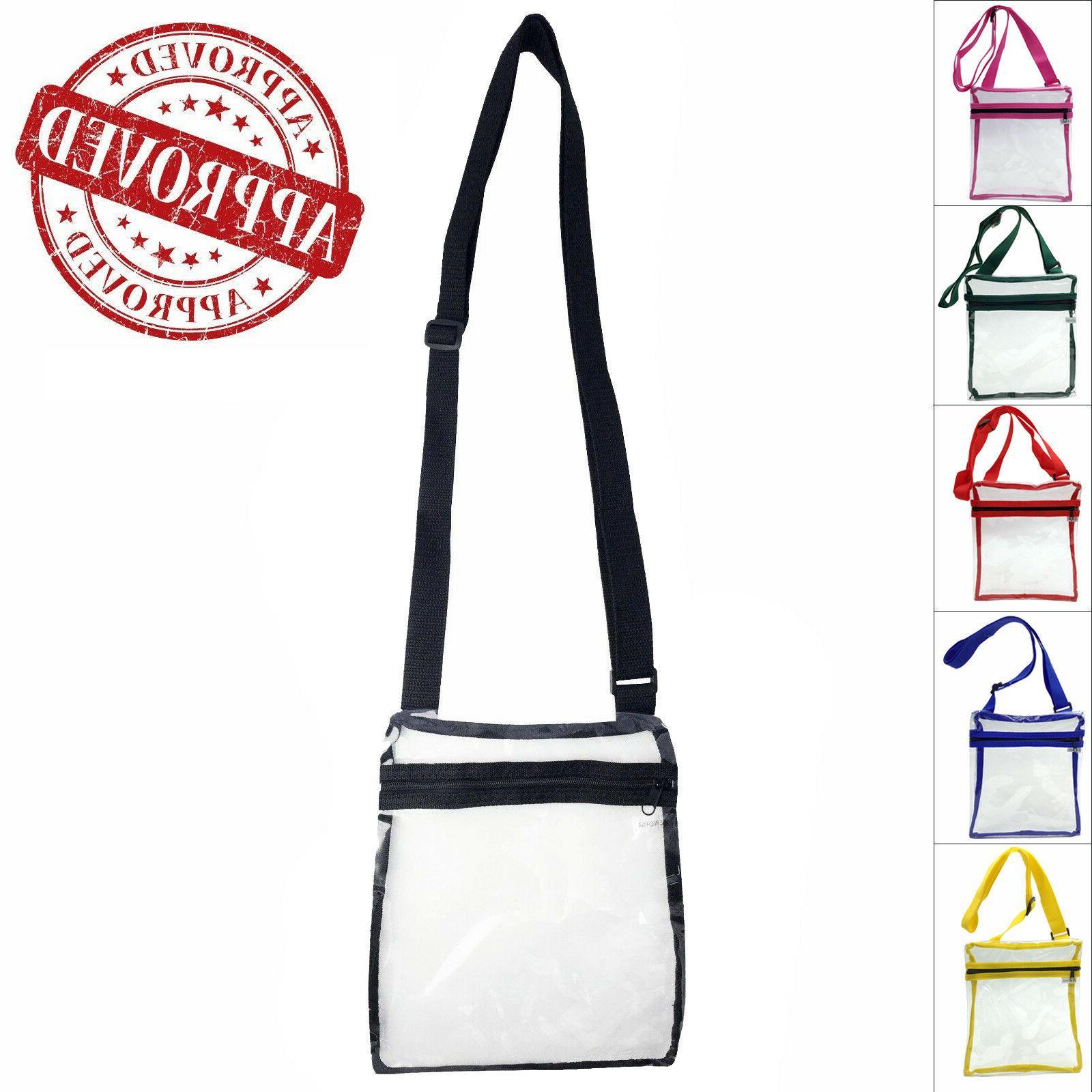 transparent stylish pvc purse clear handbag tote