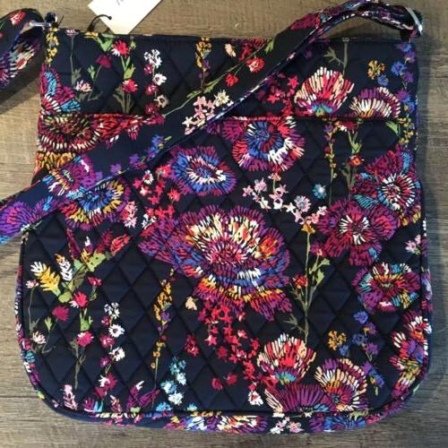Vera Bradley Triple Hipster Midnight Purse