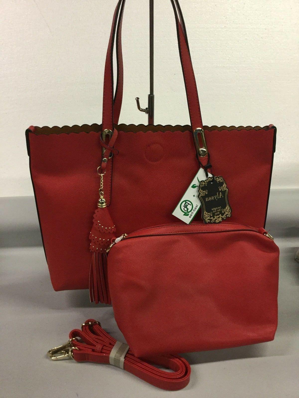 vegan lead free nwt handbag and tote