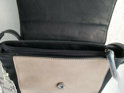 Alyssa Leather Lead Handbag Purse NEW