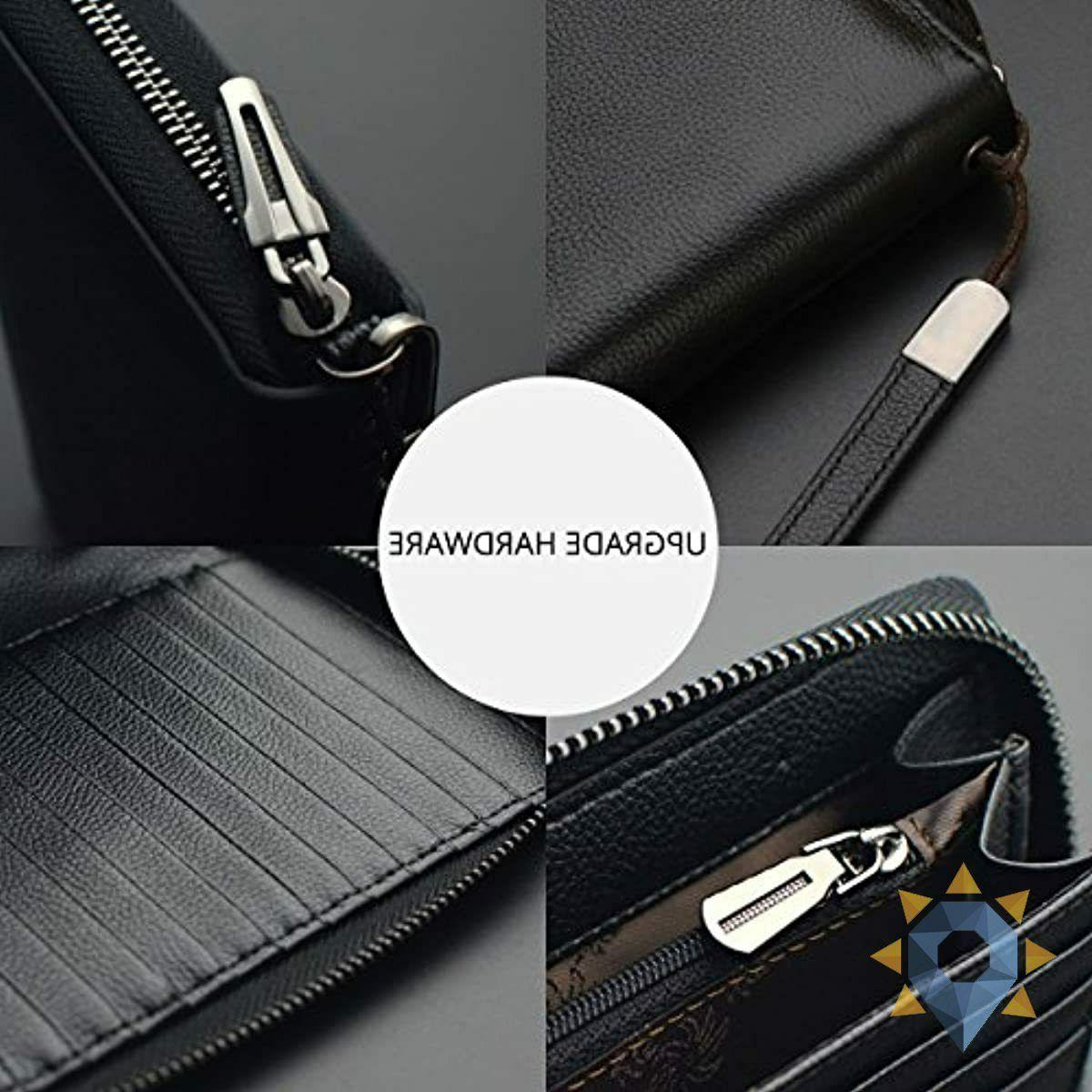 Wallet Travel RFID Wallet Leather Large