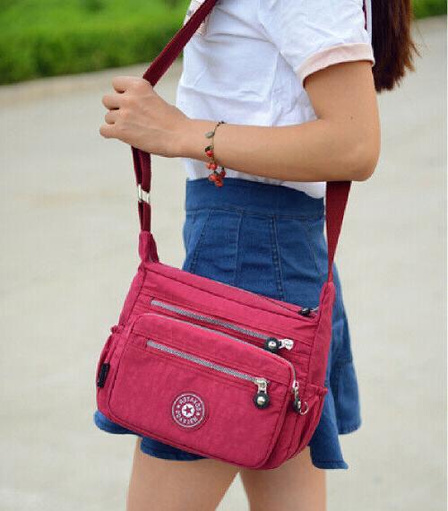 Waterproof Messenger Ladies Handbag Bag Womens Purse