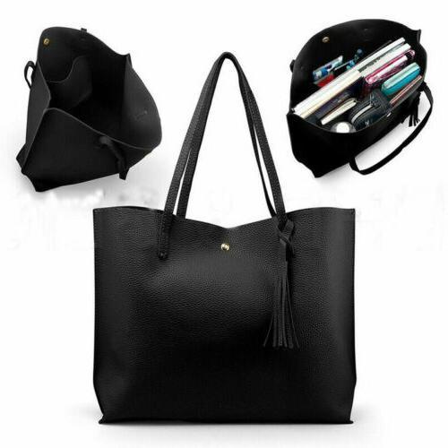 Ladies Shoulder Bag Messenger Tote Satchel
