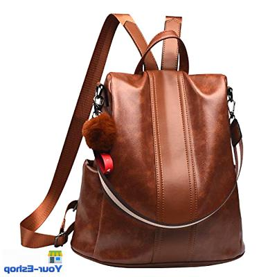 women backpack purse waterproof anti theft rucksack