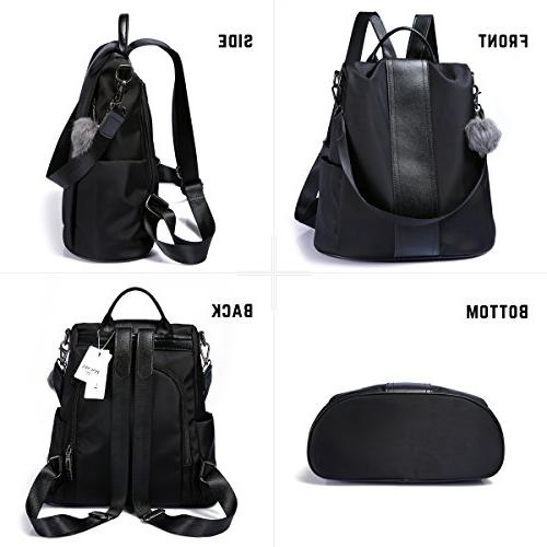 Women Purse Nylon Lightweight School Shoulder Bag