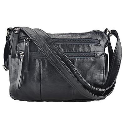women crossbody bag pocketbooks soft leather purses