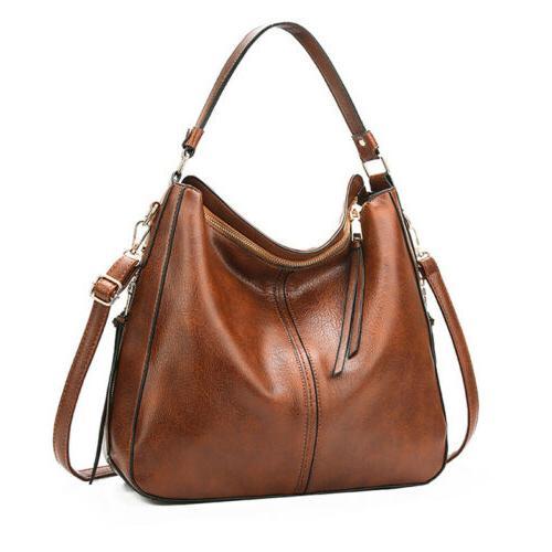 women handbags leisure faux leather purses tote