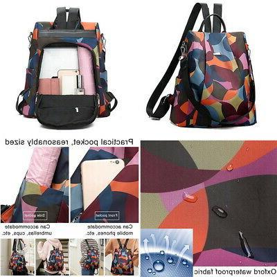 Women Backpack Purse Rucksack School Bag