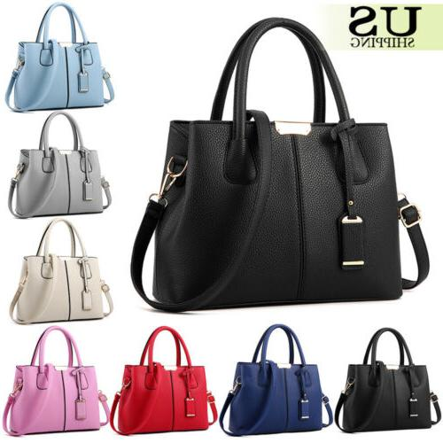 Women Lady Bags Tote Purse Leather