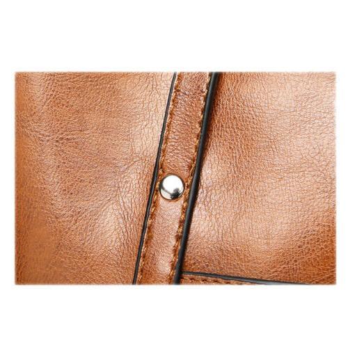 Women Leather Handbag Shoulder Messenger Satchel Shoulder