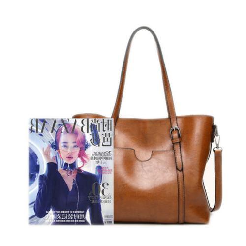 Women Leather Shoulder Messenger Satchel Shoulder