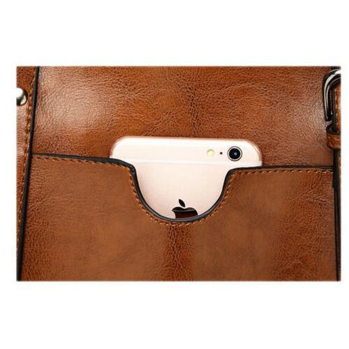 Women Lady Leather Handbag Shoulder Bag Messenger Shoulder Hot