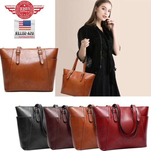 women leather bags handbag shoulder hobo purse