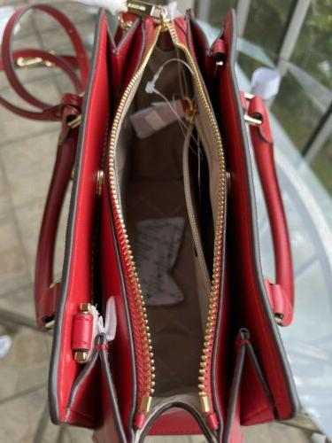 Michael Kors Leather Crossbody Bag Satchel Shoulder MK
