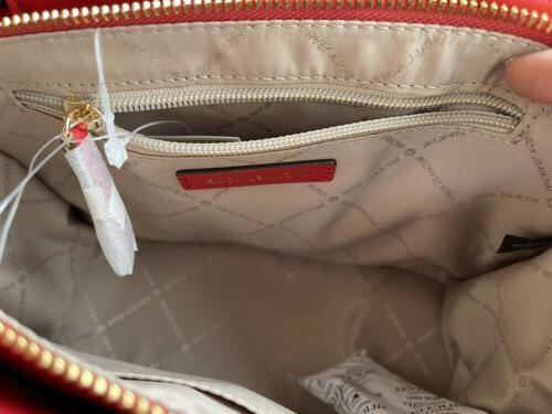 Michael Kors Leather Crossbody Handbag Satchel Shoulder