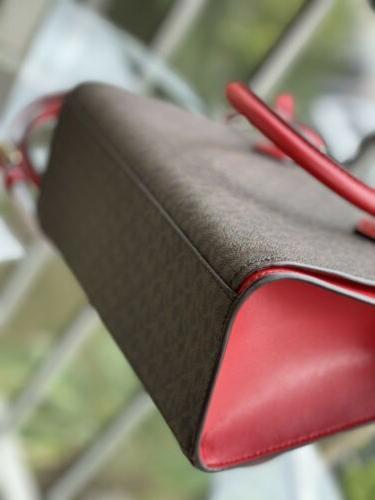 Michael Kors Crossbody Bag Handbag Purse Satchel Brown