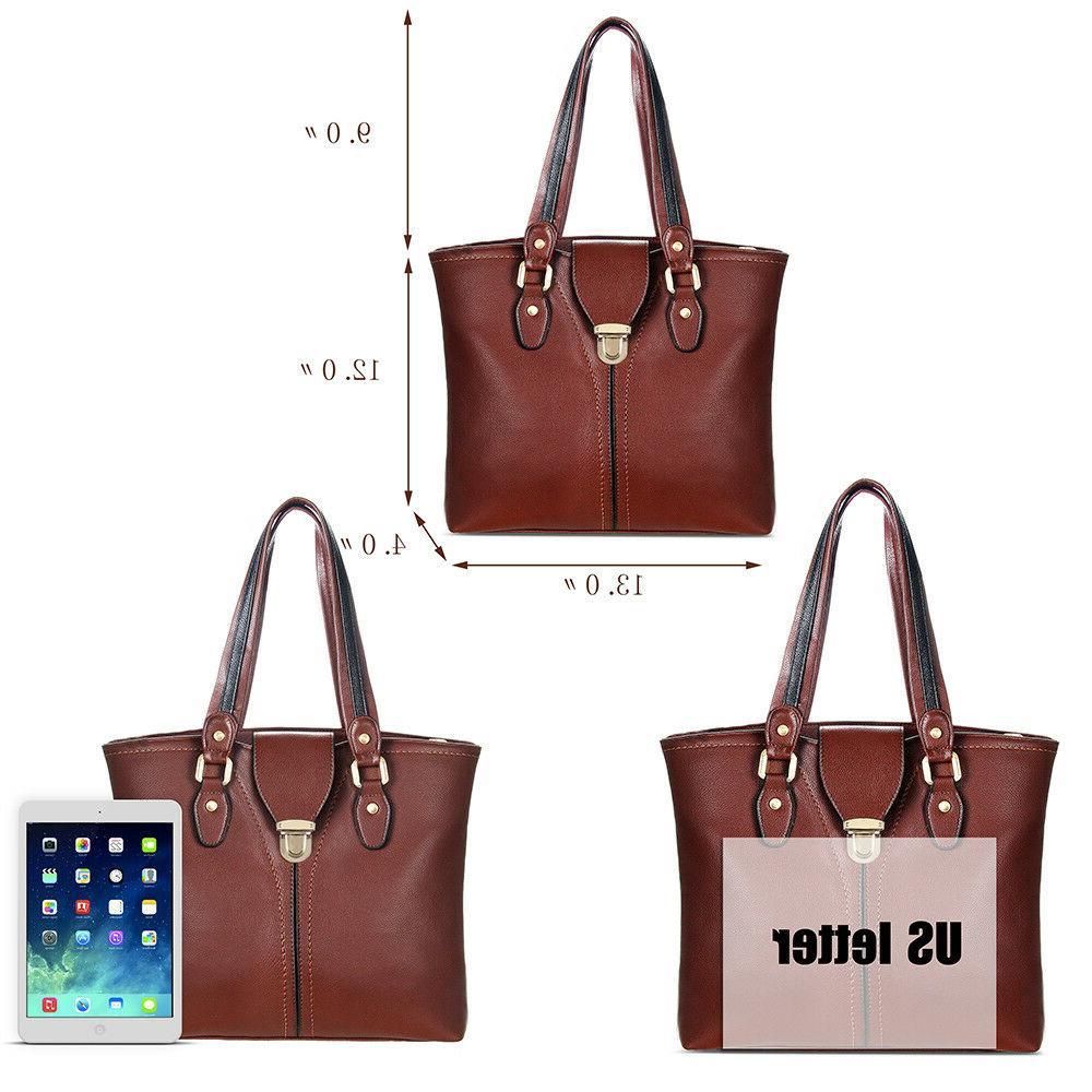 Women Leather Handbags Messenger Crossbody Bag