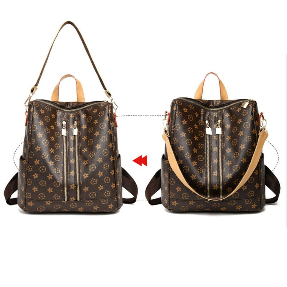 Women PU Leather Bag Cross Travel