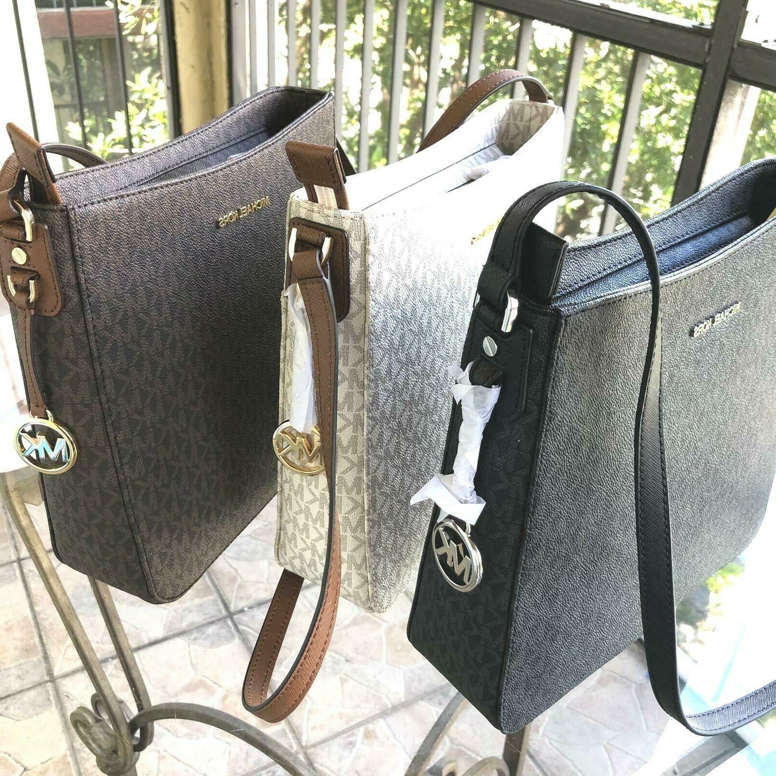 Michael Kors Women PVC Leather Messenger Purse Bag Shoulder