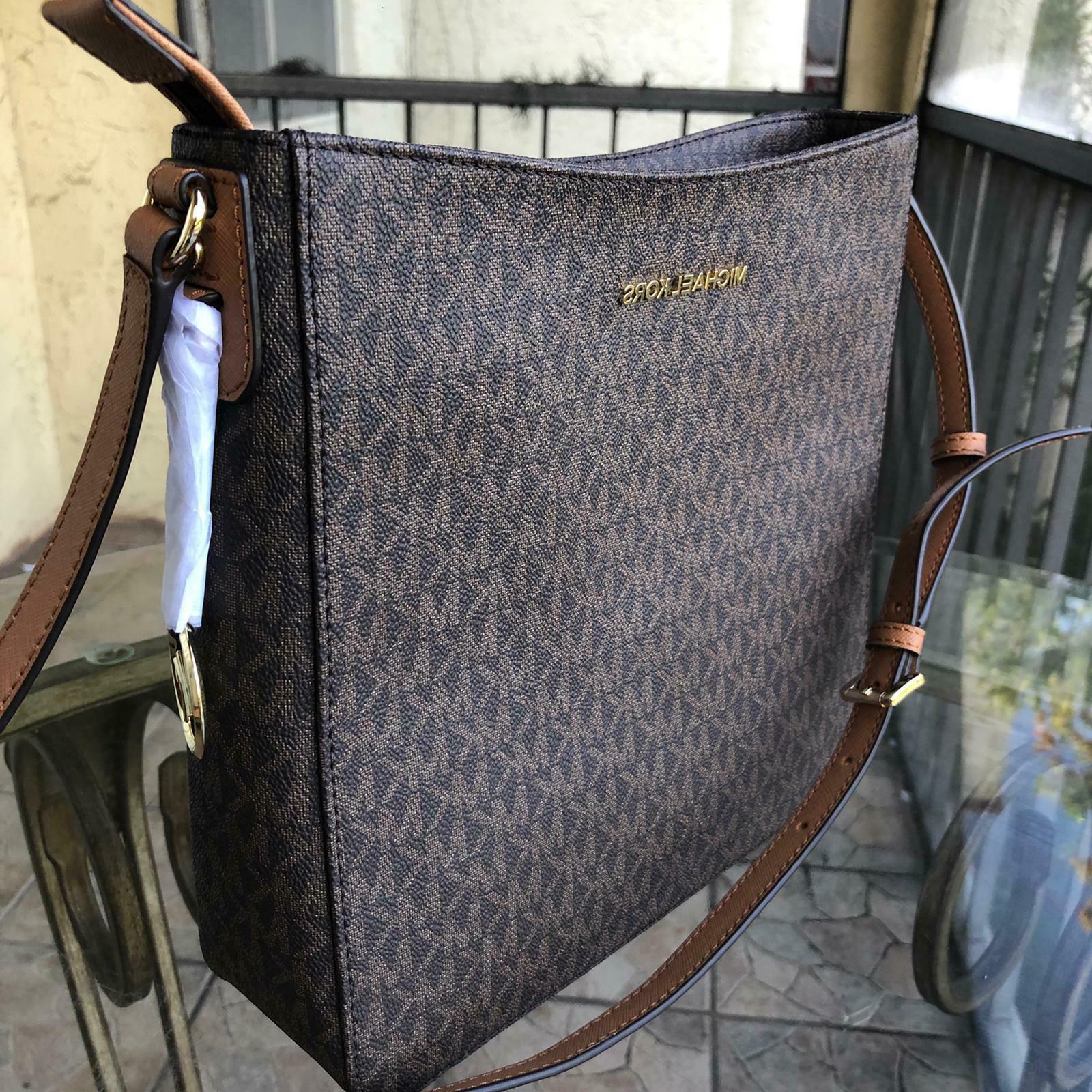 Michael Kors Leather Crossbody Purse Bag Shoulder