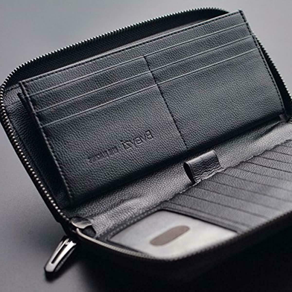 Bveyzi RFID Wallet Around Phone Purse
