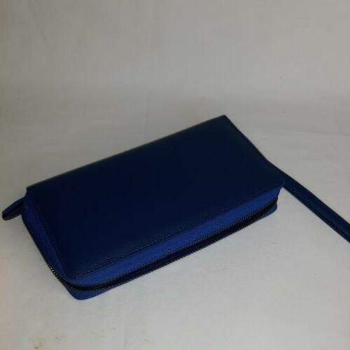 Bveyzi RFID Blocking Wallet Clutch Large Purse