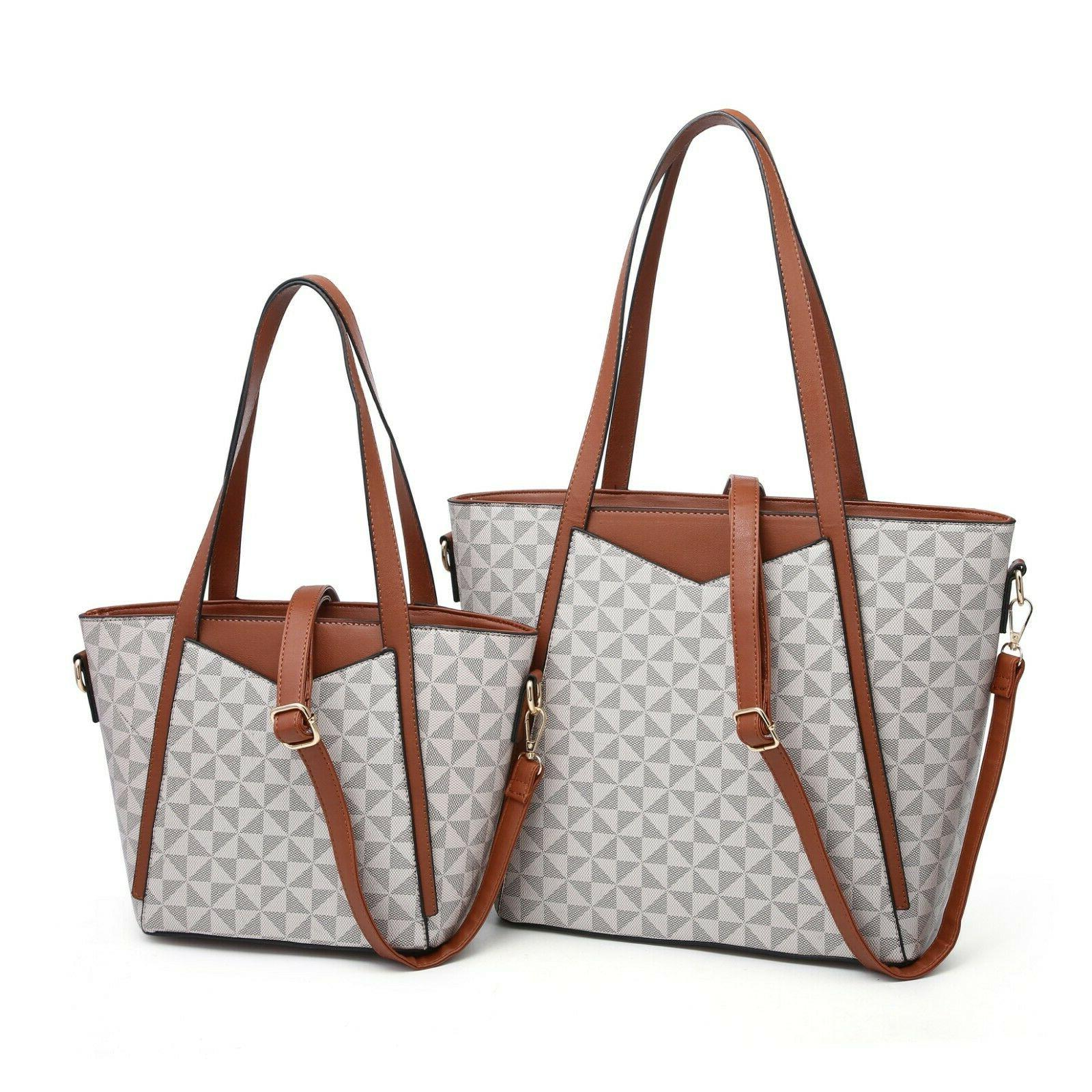 Women's Lady Satchel Pieces Set Tote Shoulder