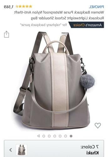 women s backpack purse