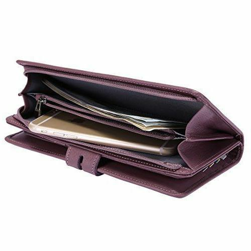 RFID Leather Holder Bank