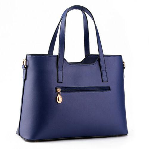 Women's Handbag Leather Messenger Shoulder Bag Crossbody
