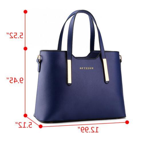 Women's Messenger Shoulder Tote Bag Crossbody Satchel