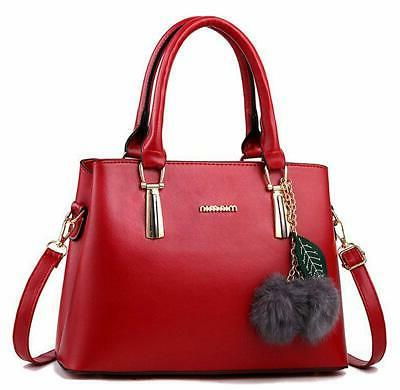women s leather handbag tote shoulder lightweight