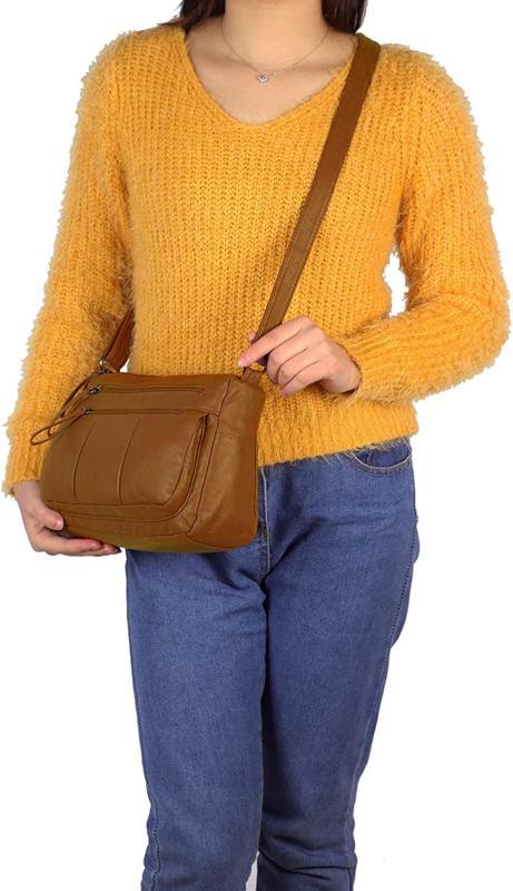 Women's Leather Shoulder Bag Cross Handbag