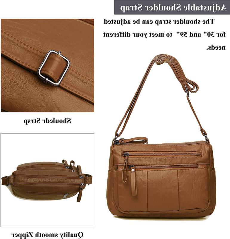 Shoulder Bag Pockets Cross Body
