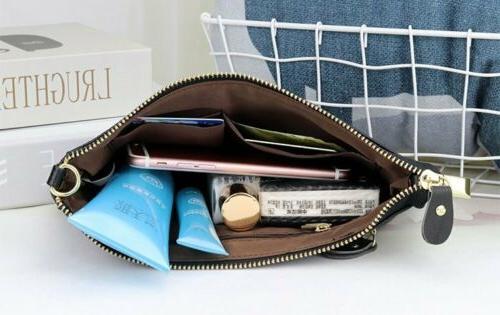 Women's Messenger Hobo Bag Genuine Leather Handbag Tote Purse Crossbody