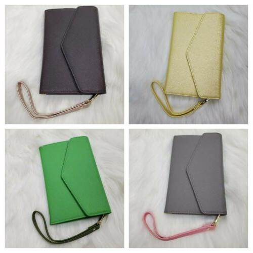 Travelambo Women's Purse Strap Bifold Travel Wallet/Clutch