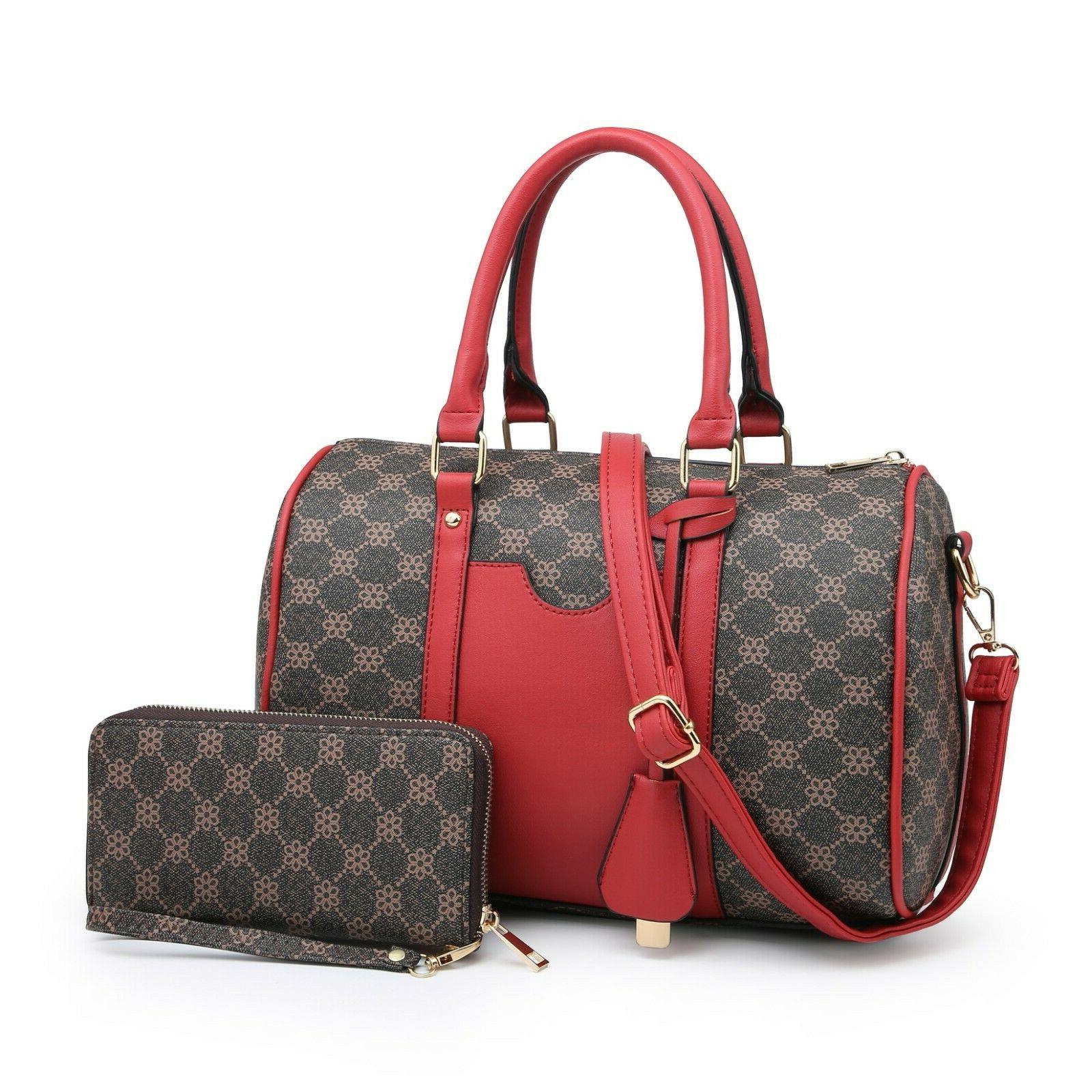 Women's Shoulder Tote Set